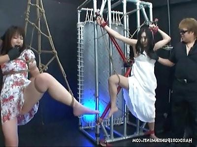 Extreme Japanese BDSM Sex Kaho and Ayumi