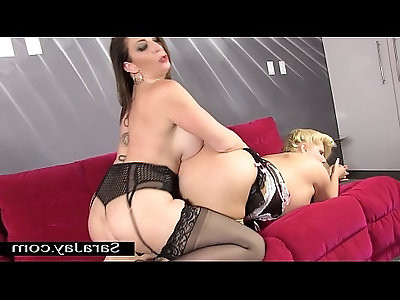 Big Tit Sole Sluts with Sara Jay