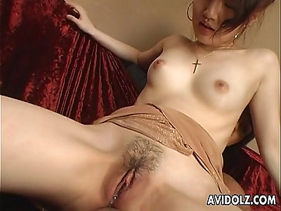 Japanese girl with and fucked