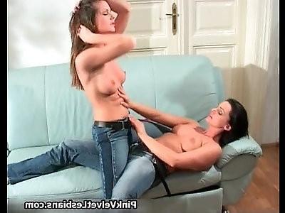 Perfect tits super hot brunette