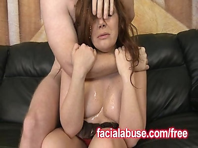 Chelsea Taylor Gets Her Throat Fucked