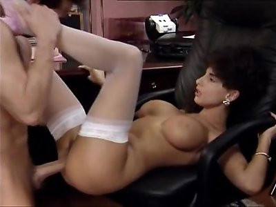 Sarah Young Great Office Fuck With Peter North Her Body Covered With Cum But No Facial