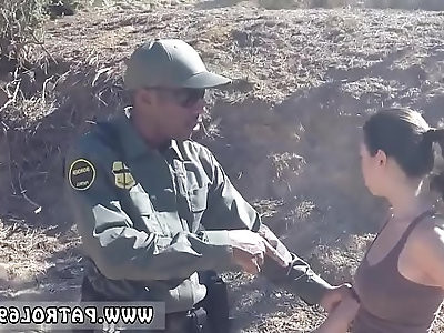 Police pornstar first time Latina Fucked By the Law