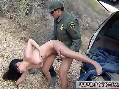 Fake cop cumshot compilation xxx Busty Latin floozie Alejandra Leon