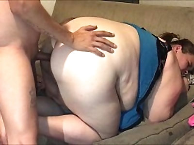 Hot soccer mom take it up the ass by her daughter boyfriend making her beg him to stop from the pain and asshole burning to bad anal cream pie