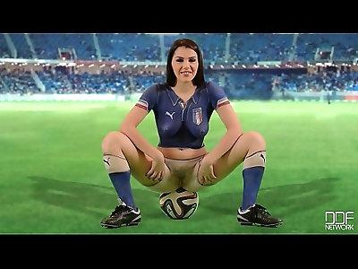 Sexi italian babe world cup