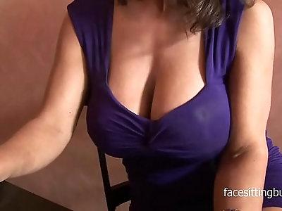 face sitting in BDSM porn videos