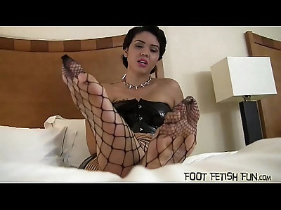 Stroke your cock and then shoot your cum on my feet