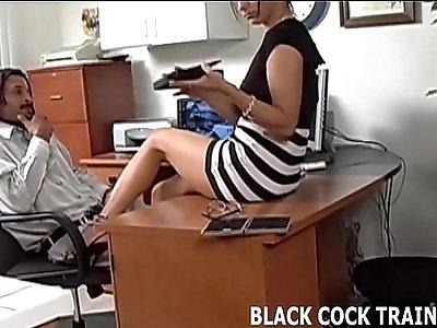 I think I am addicted to black hard long cock