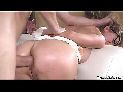 Officer of the law anal fucked