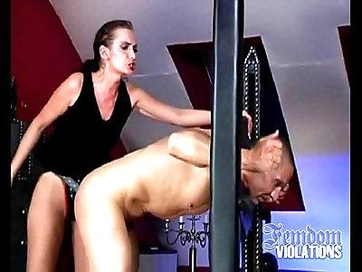 Femdom violations lady lou