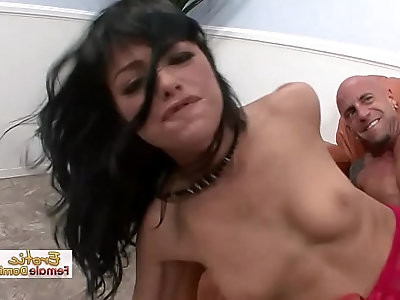 Horny Pussy Destroyed By A Monster Cock