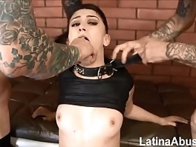 new Mandy Muse returns to get throated, Ass Fucked And DPd